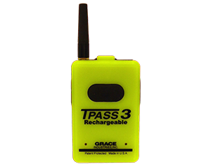 T PASS 3 Evacuate Grace Industries Inc Pre-owned Safety Alarm Lone Worker