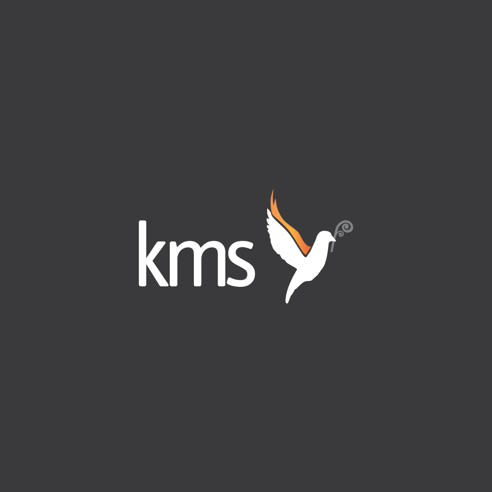 Dark logo for Kingdom Ministry School - www.kms.org.nz