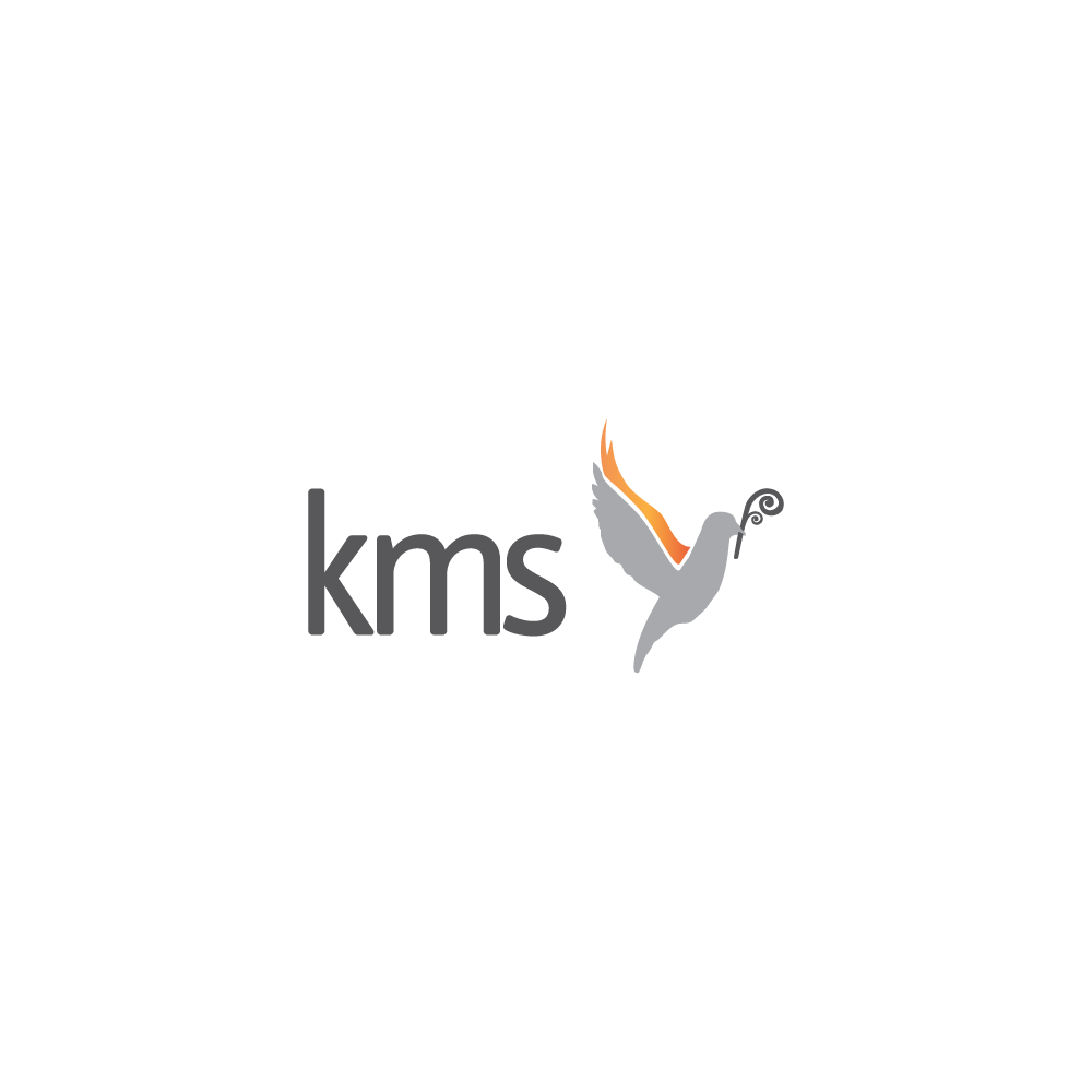 Light logo for Kingdom Ministry School - www.kms.org.nz