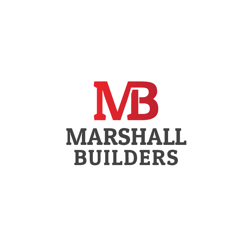 Logo for Marshall Builders in Nelson - www.marshallbuilders.co.nz/