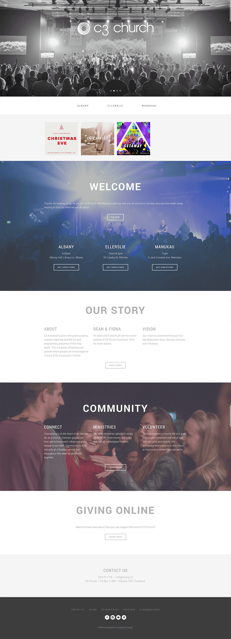 C3 Auckland - Home page