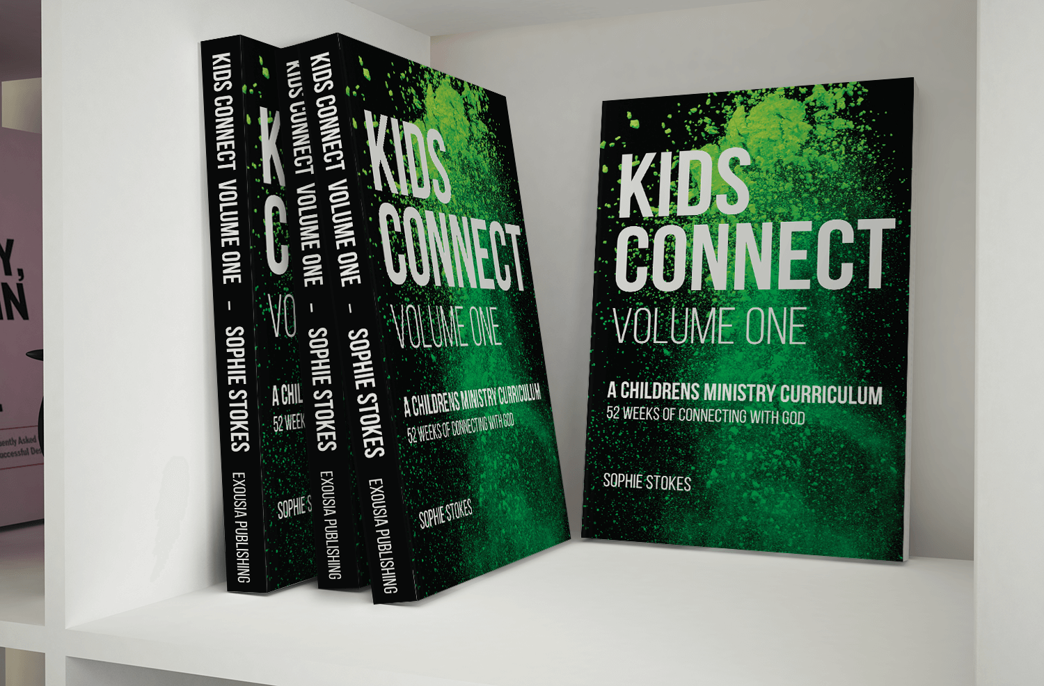 Kids Connect Volume One - Book cover