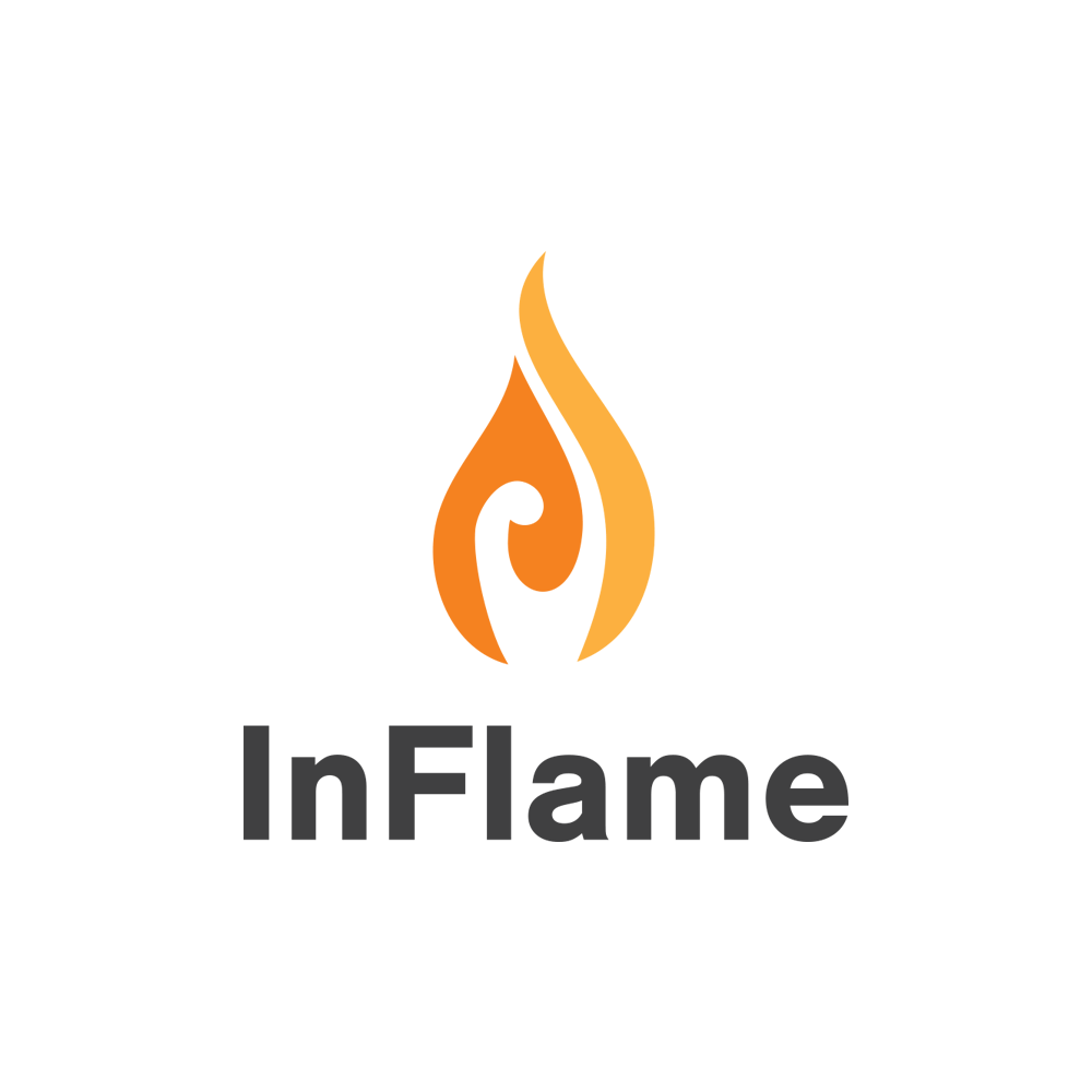 InFlame Ministries logo - Light