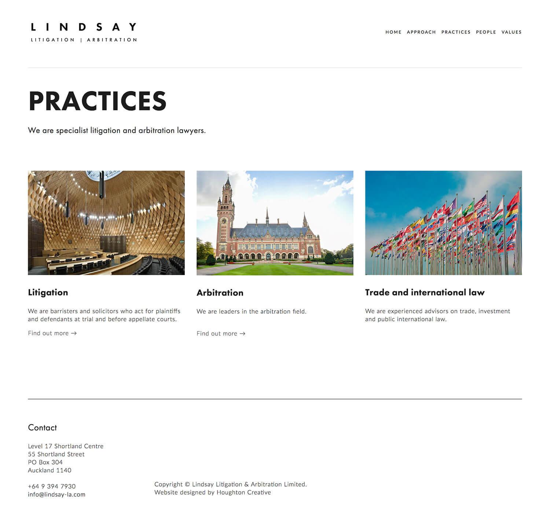 Lindsay LA – Our Practices