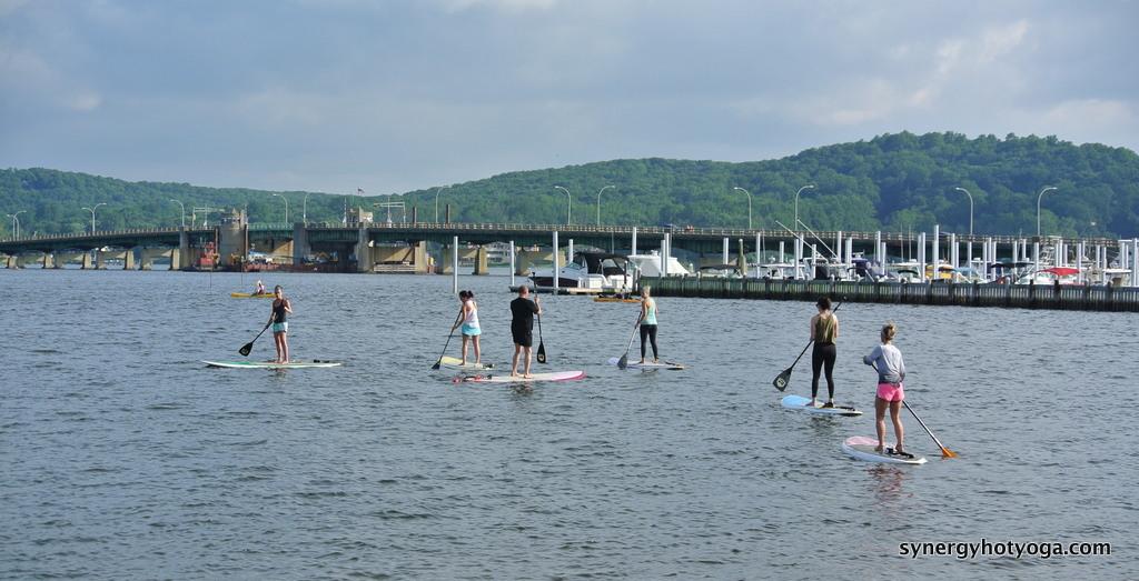 Paddle On.... Yogis!!!!