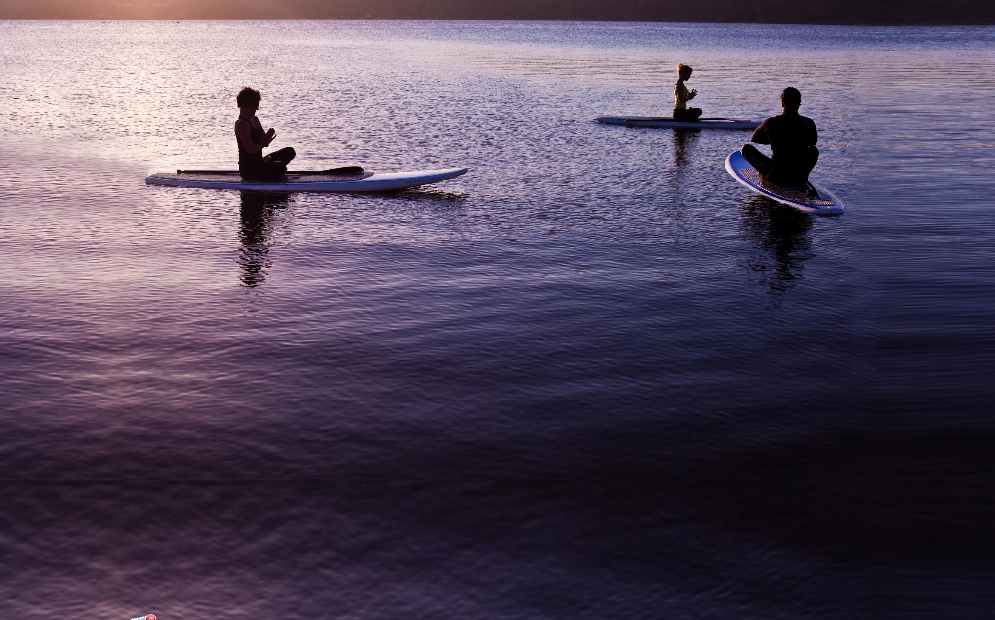 Peaceful Padmasana with Jen and Bryan (photo by Ryan Struck Photogrpahy)