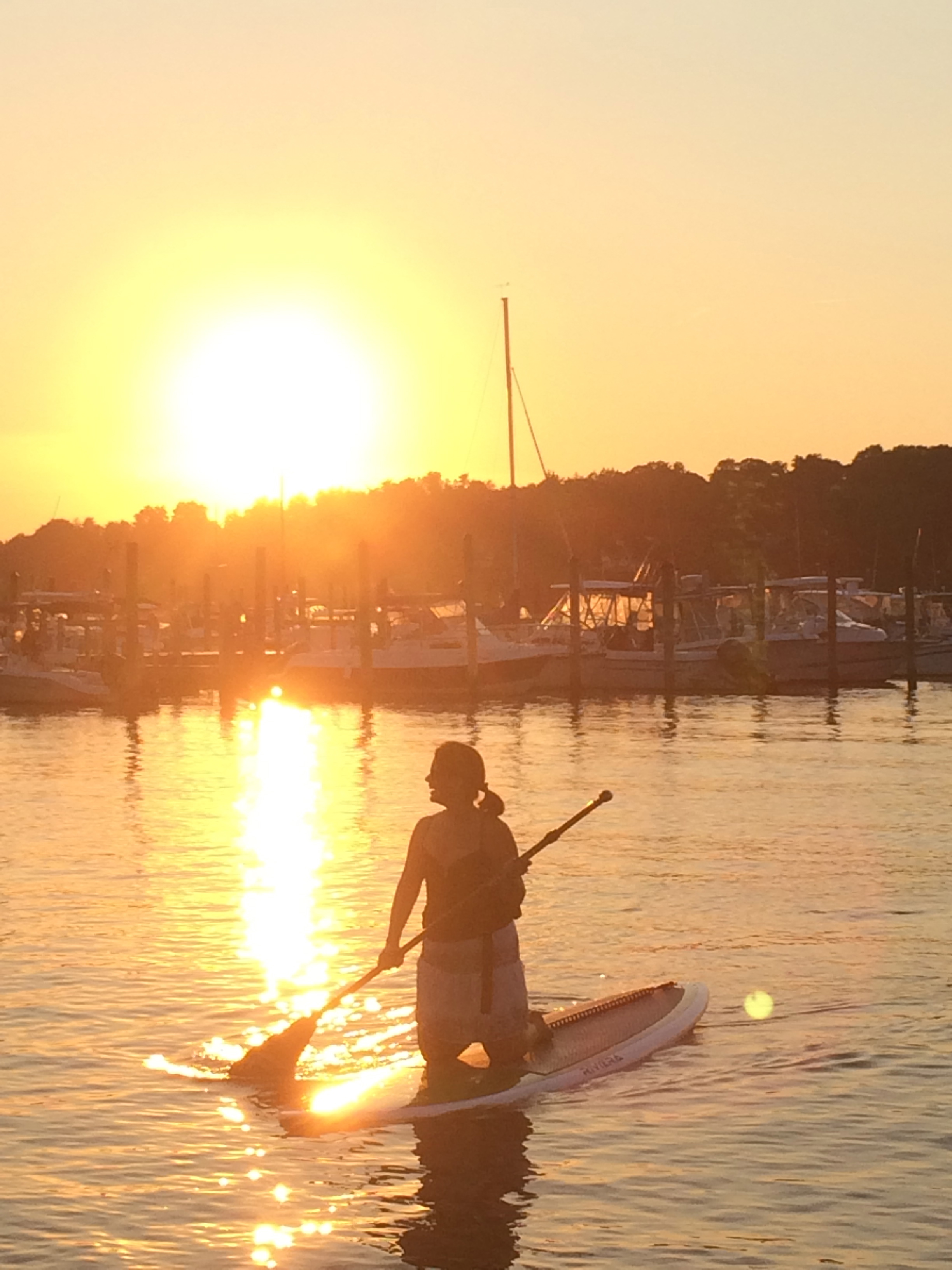 Sunset Paddle. Wow!
