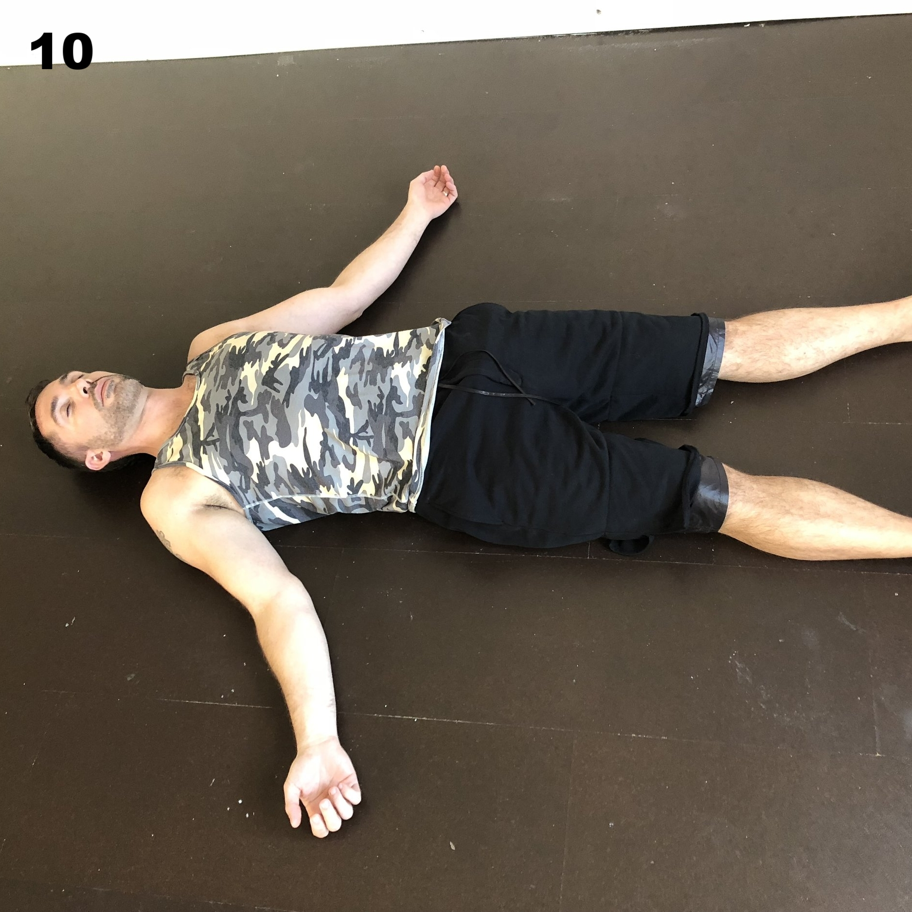 Savasana  - lay on your back, stretch your limbs away from your body, and rest deeply.  You are not the body, not the mind, but something divine.....