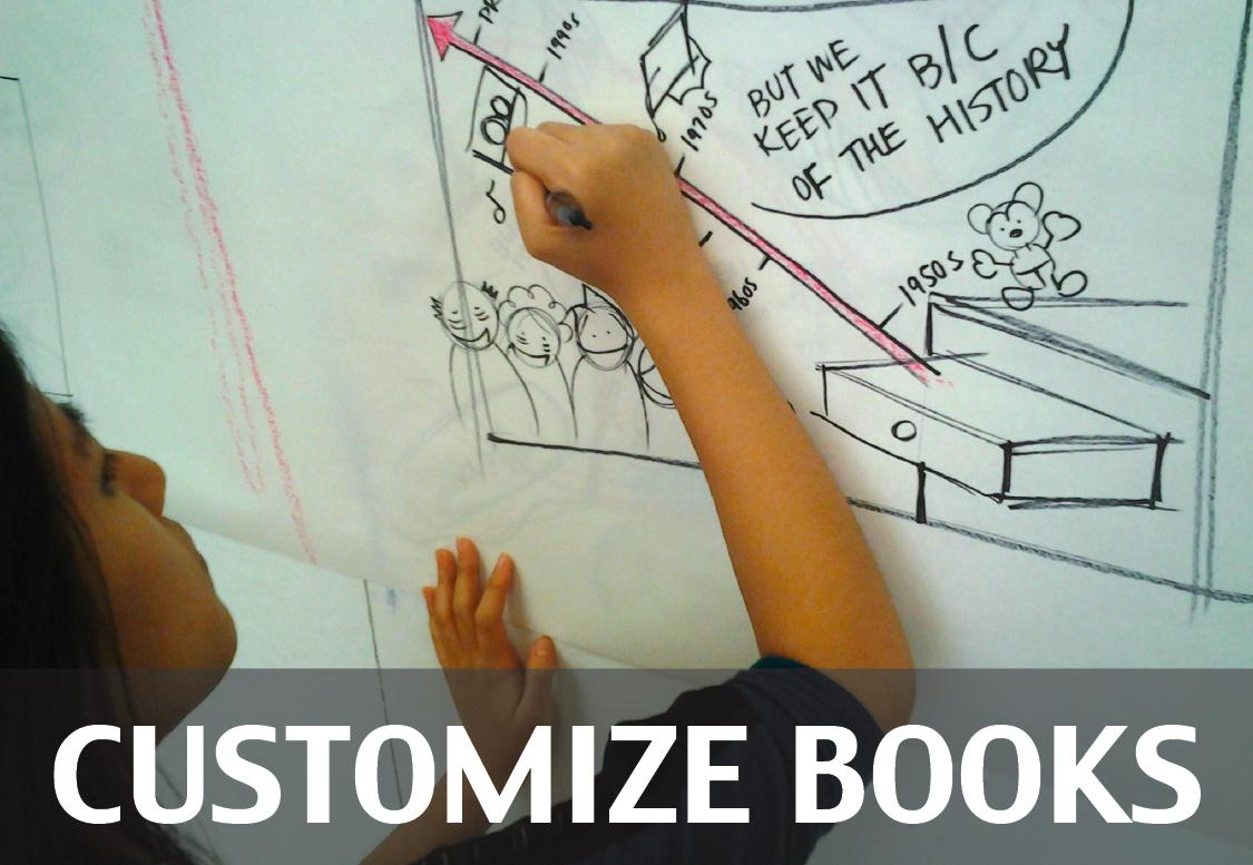 Customize Books