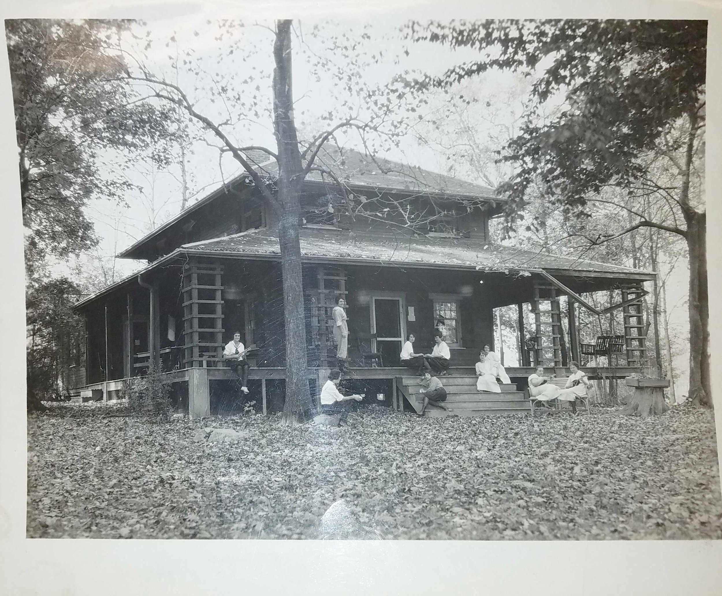 Main Lodge at Briarcliff, Young Woman's League. Photo courtesy of Wright State University Special Collections and Archives.