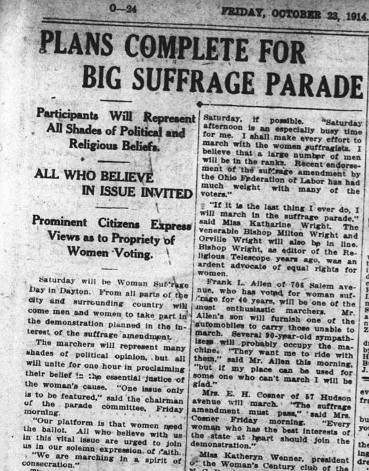 Dayton Daily News Friday, October 23, 1914