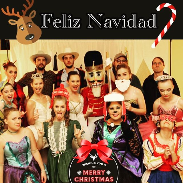 We got the cast of the Nutcracker take a photo with us... this is the result! See y'all at House of Fifi Dubois tonight in San Angelo! 9pm y'all. Happy Holidays!