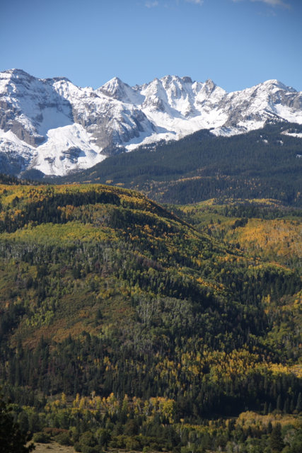 The incomparable Sneffels Range of the San Juans