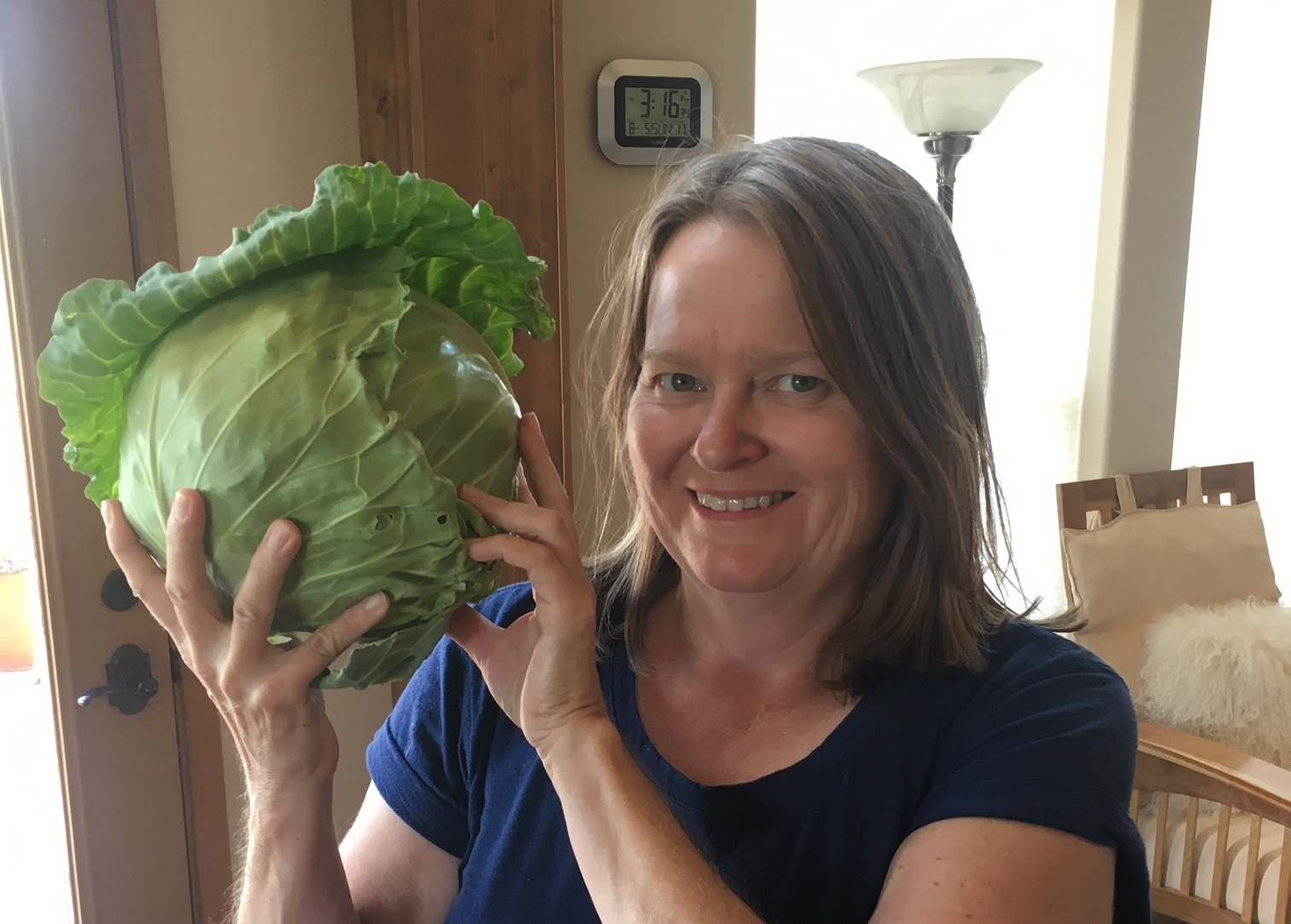 Now THAT's a cabbage!