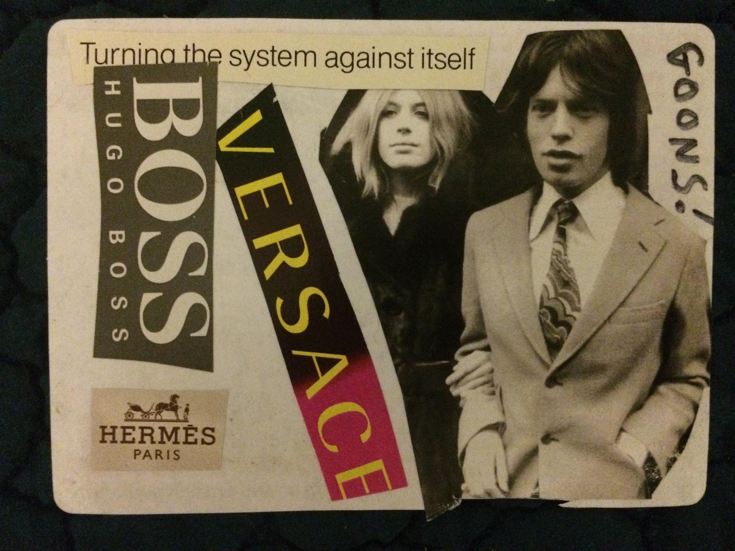 Mick Jagger Low Brow High Class