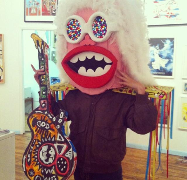 Goonsworld mask!