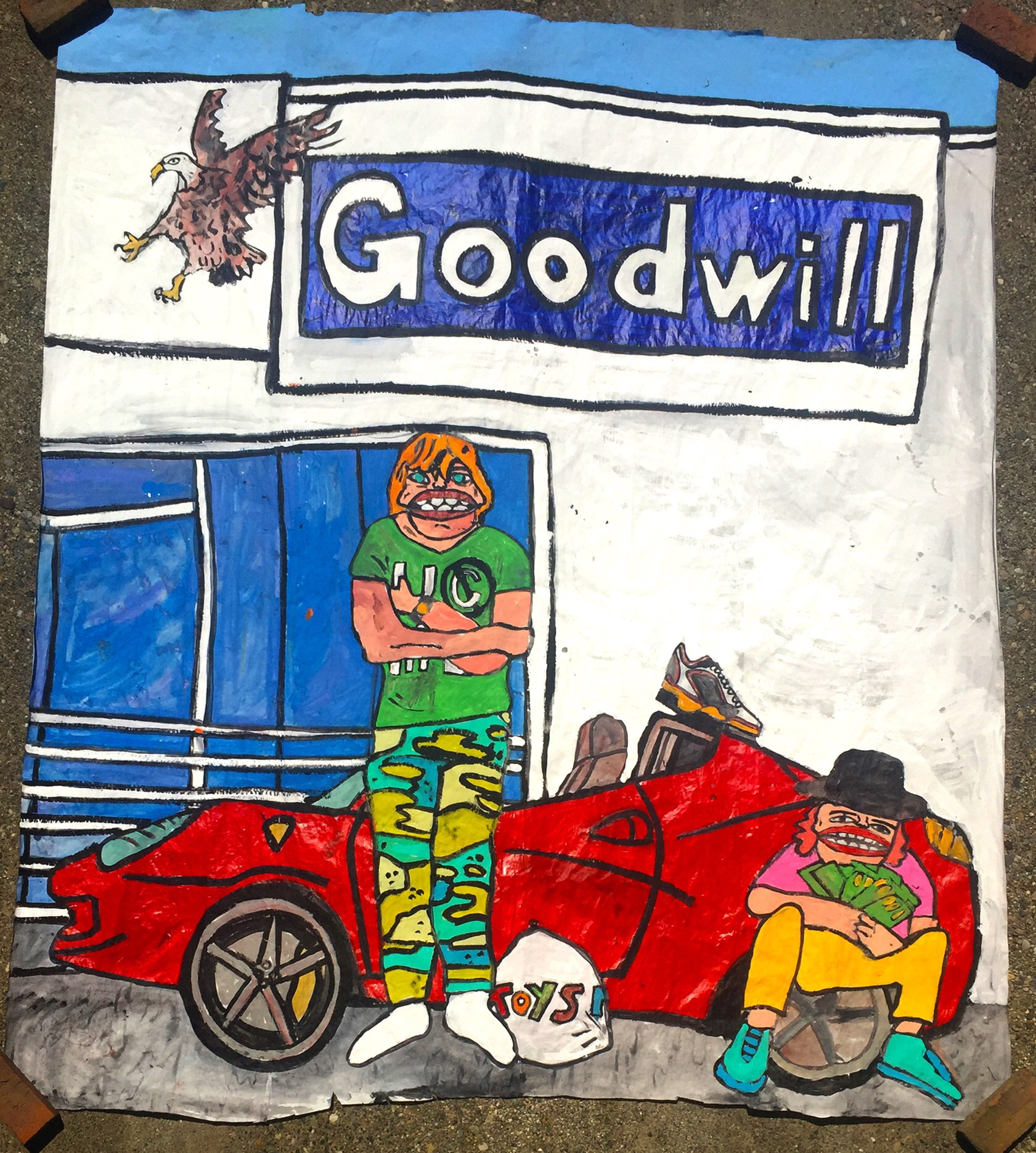 'Goodwill To All' $3,000,000.