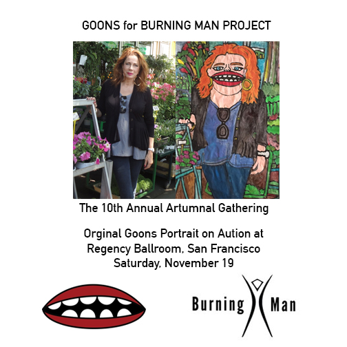 Happy to be part of the crazy and great Burning Man auction once again!