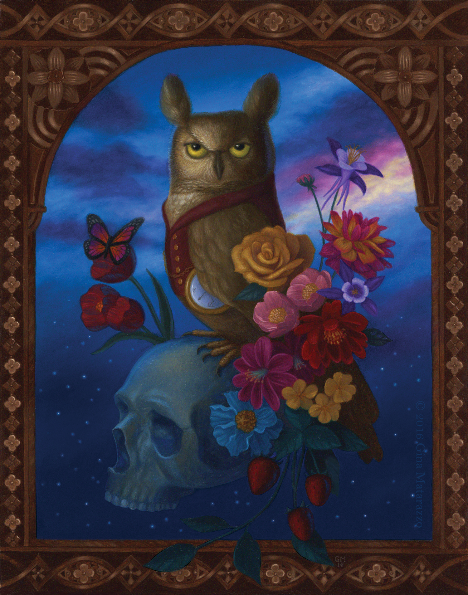 owl_night_flowers_skull_illustration_imaginative_realism_gina_matarazzo.jpg