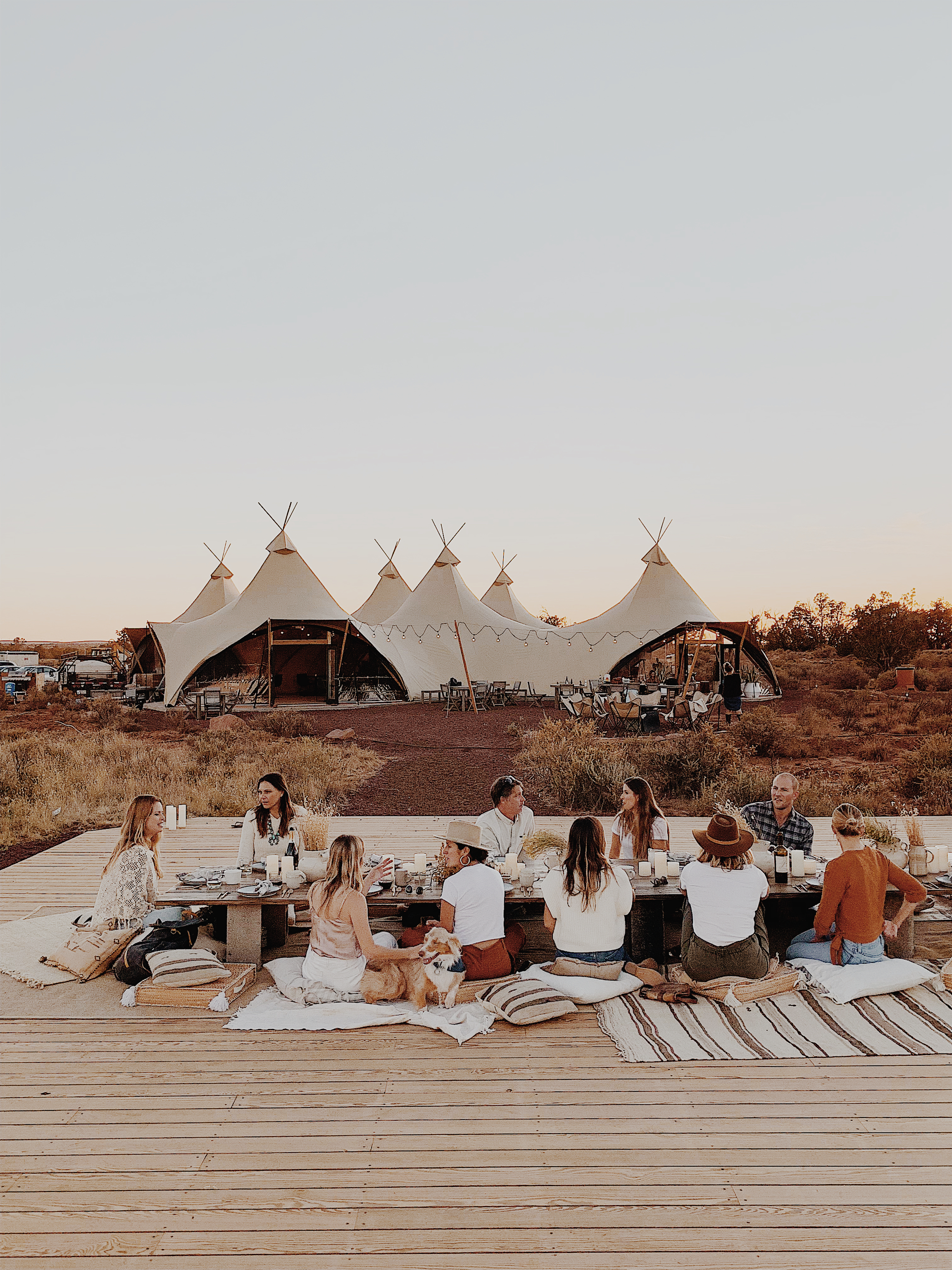 The Venue Report x Under Canvas Grand Canyon