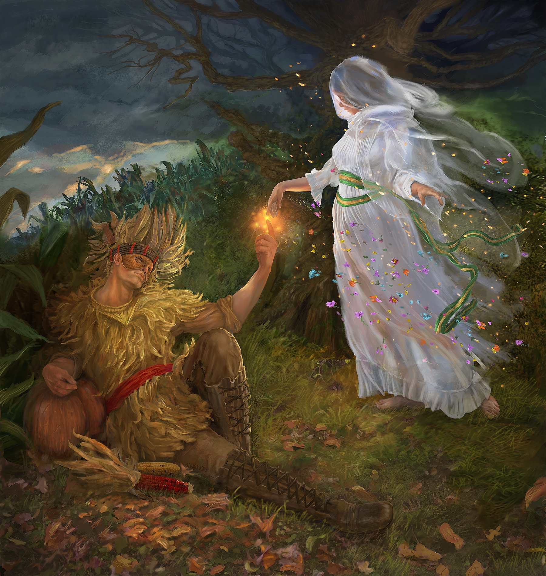 Mother Earth and The Harvest Lord
