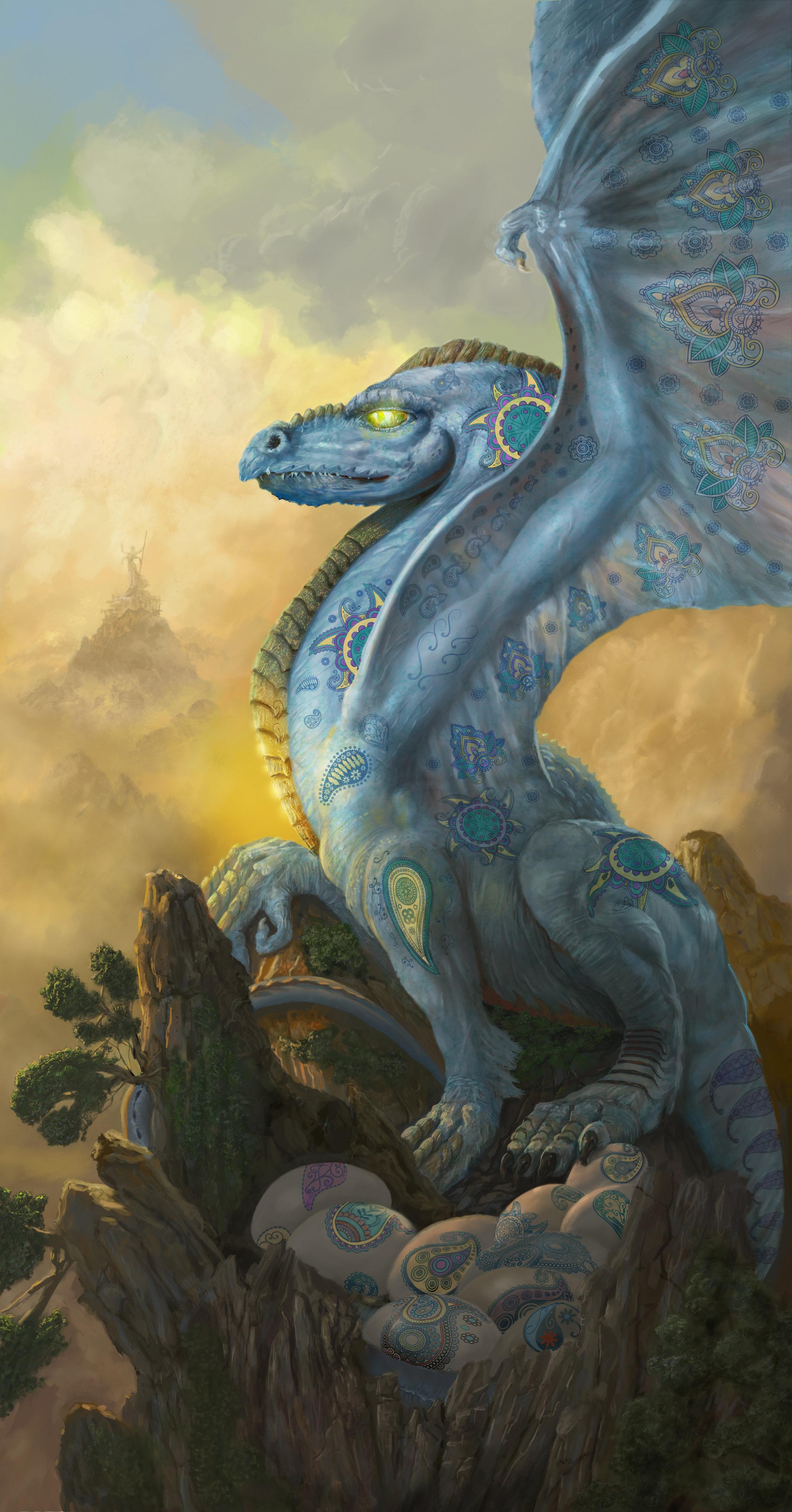 The Paisley Dragon