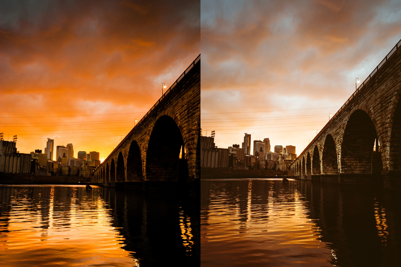2011 edit (left), 2014 edit (right)