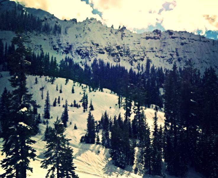 My first powder day on West Coast