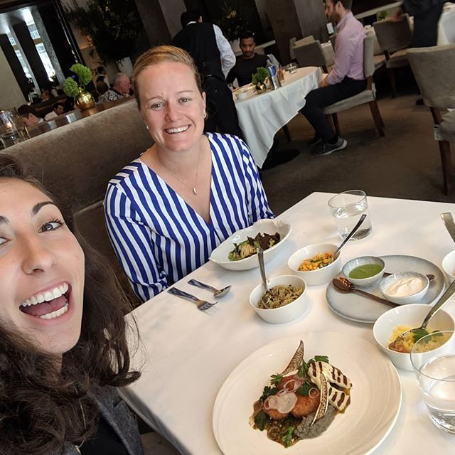 Work Businessman Lunch Break Meeting.  Almost wife lunch out, heh :) #thelauras2019