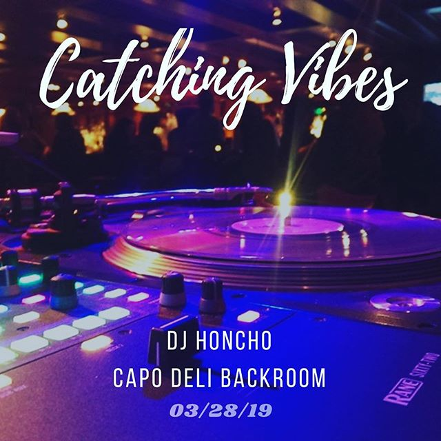 This Thursday #catchingvibesdc continues! #hiphop #originalsamples #jazz #funk #RnB #findyourvibe