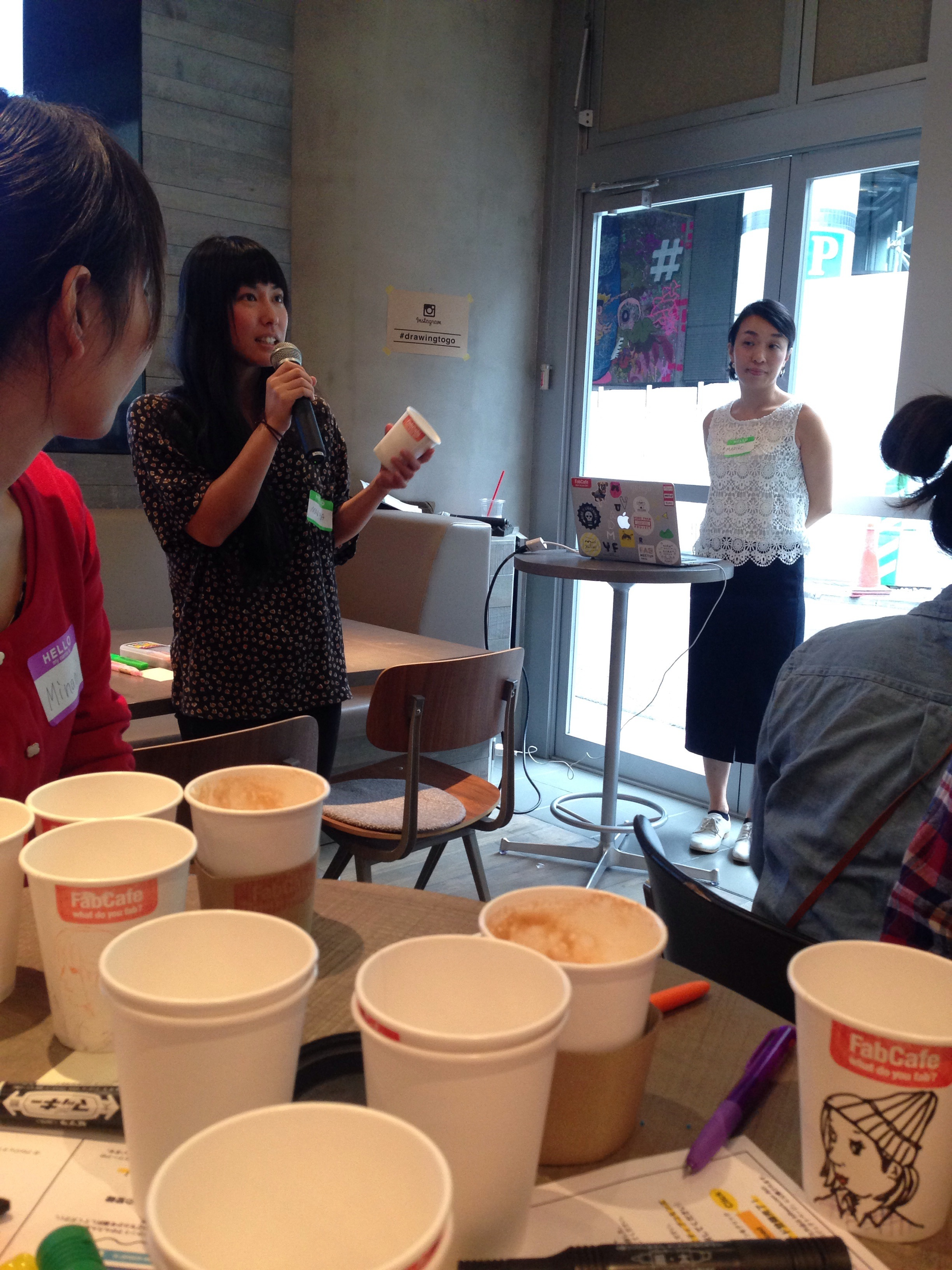 Mariya Suzuki on how she started drawing on coffee cups.