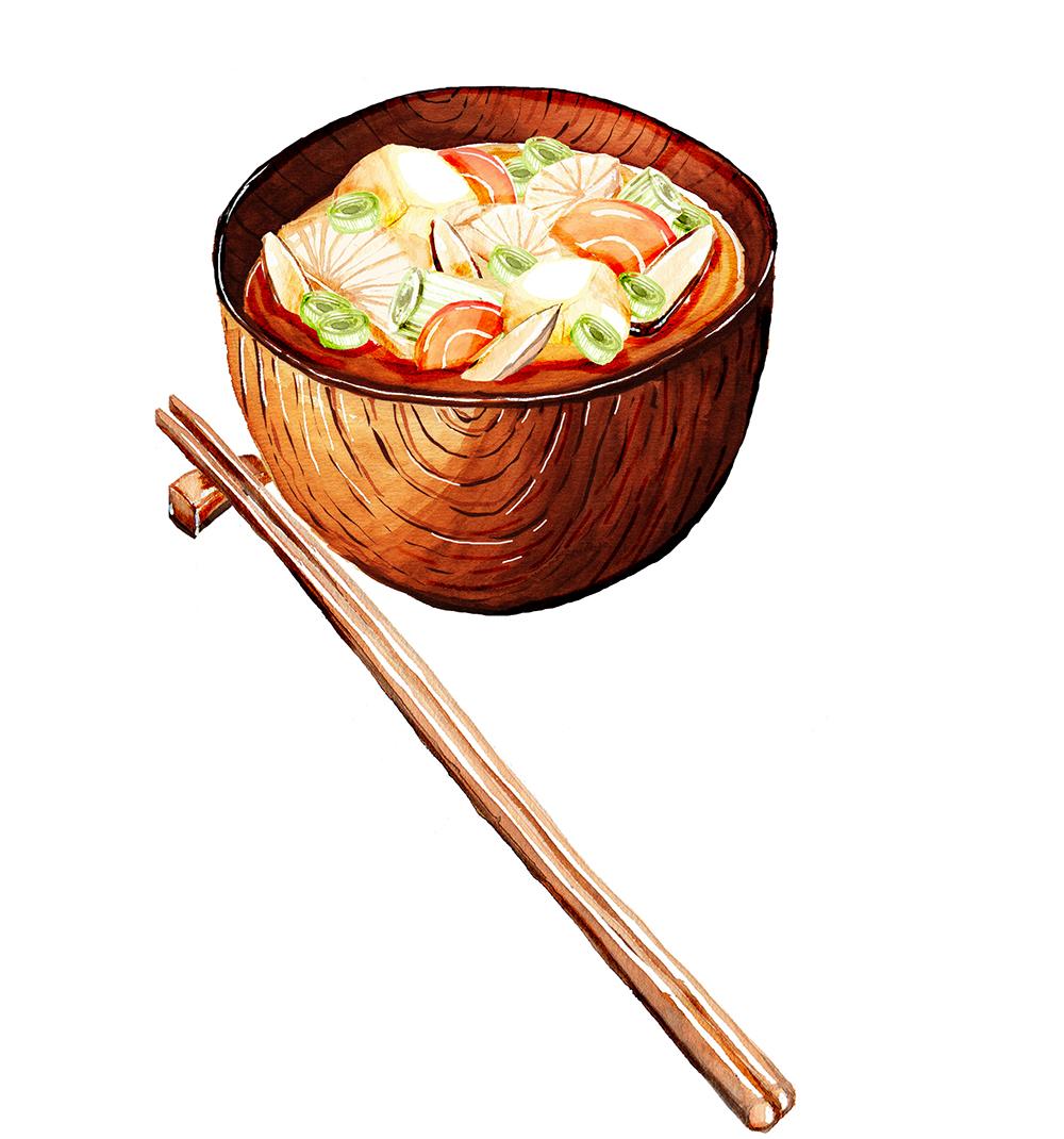 Tonjiru (Pork Miso Soup)