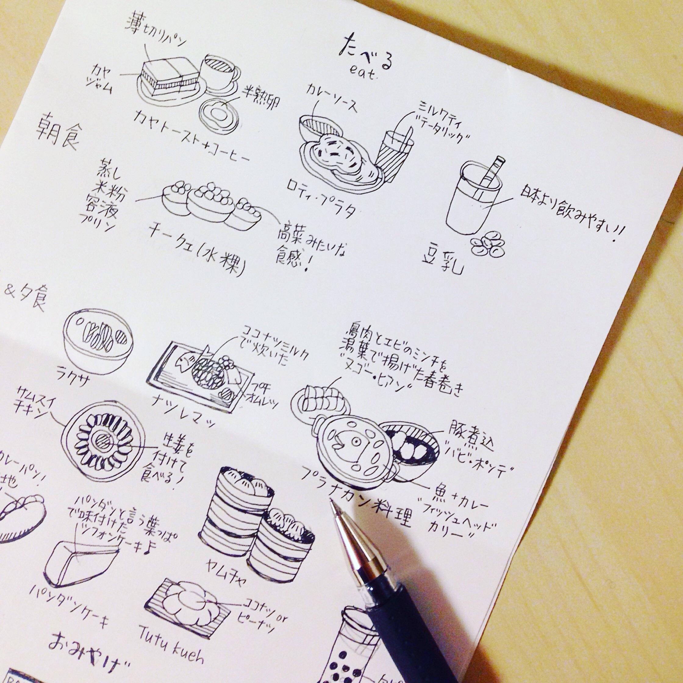 Illustrating my risograph mini zine on Singapore!
