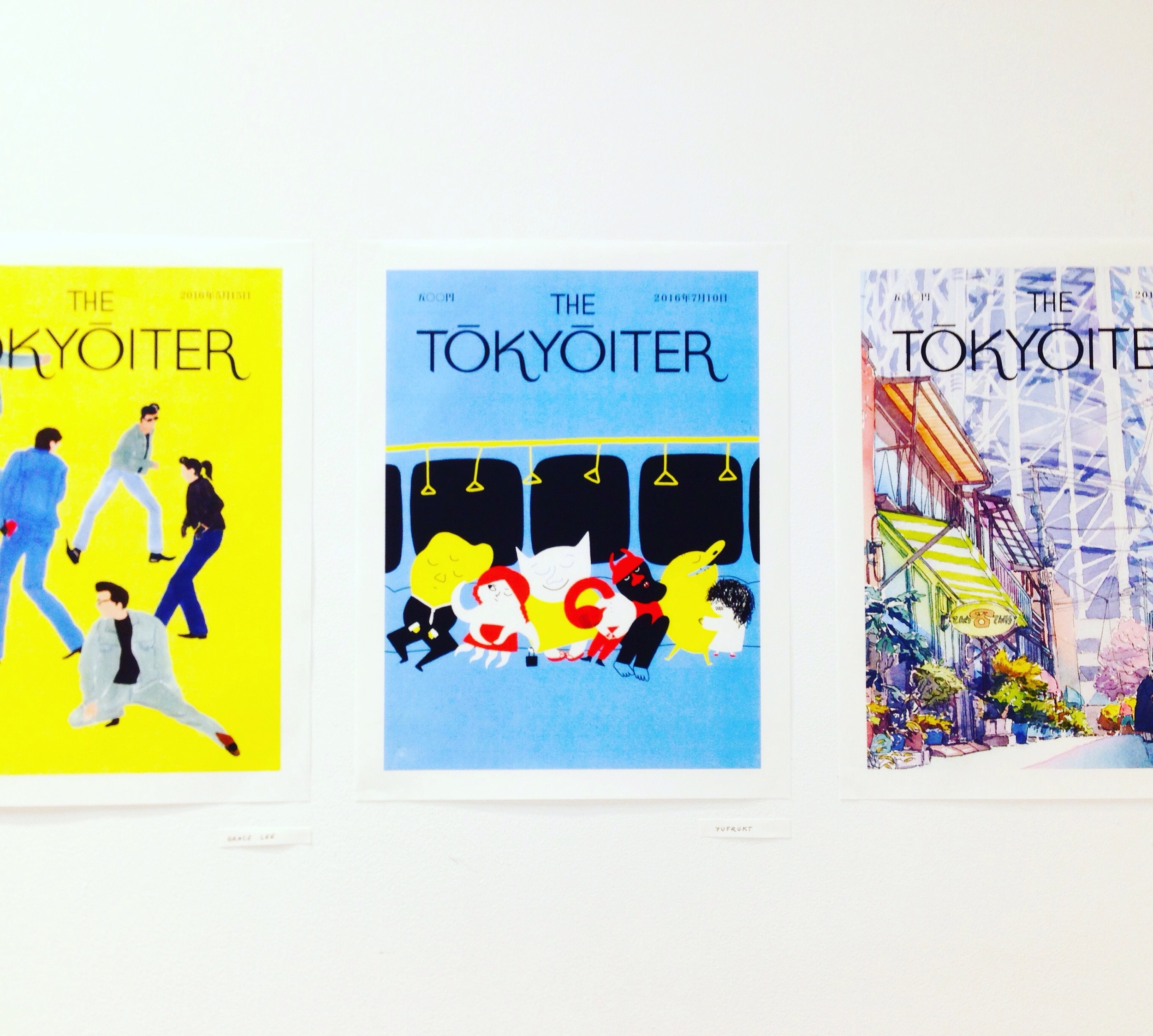 The Tokyoiter covers