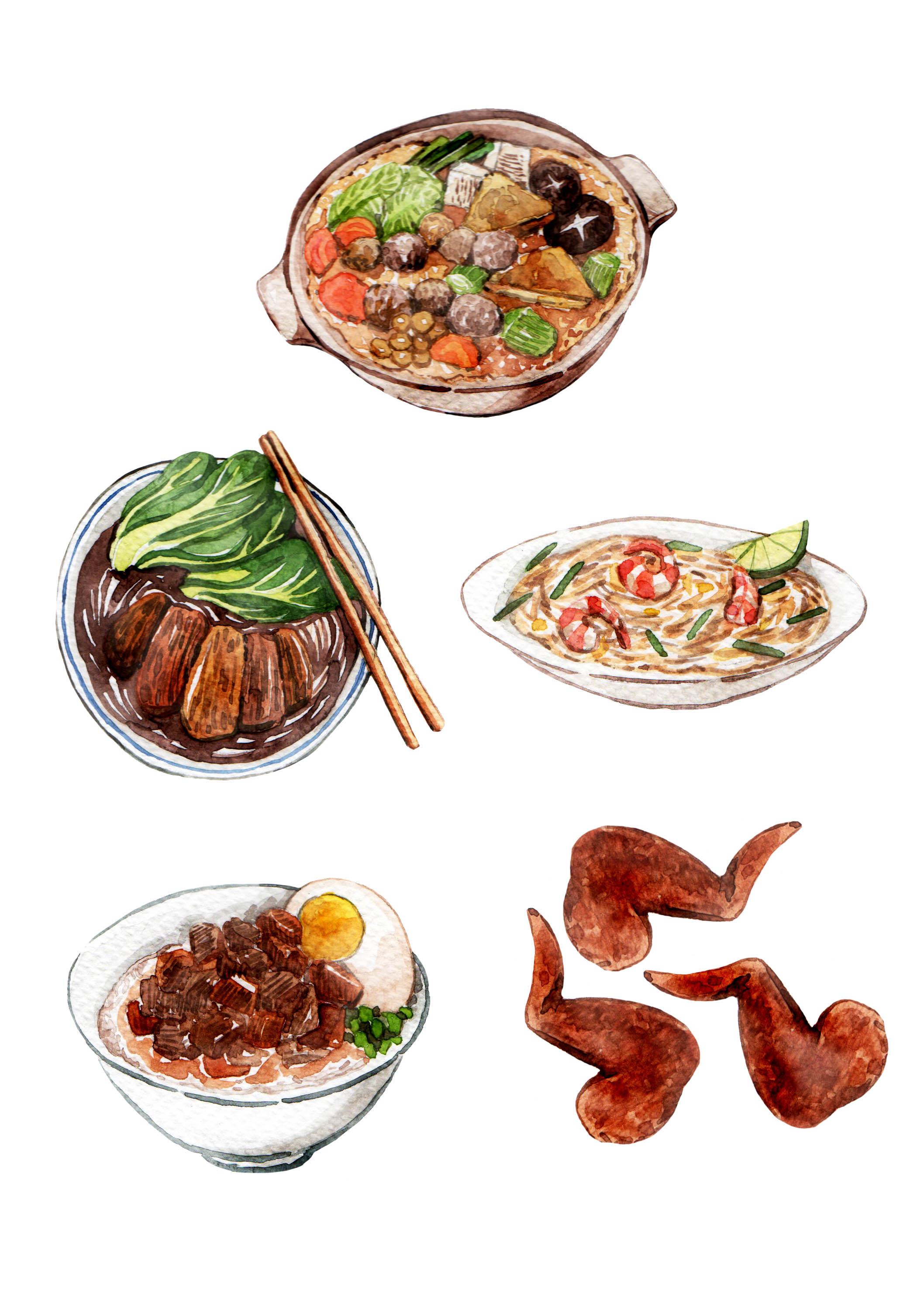 Gourmet food for Fraser Cachet Magazine