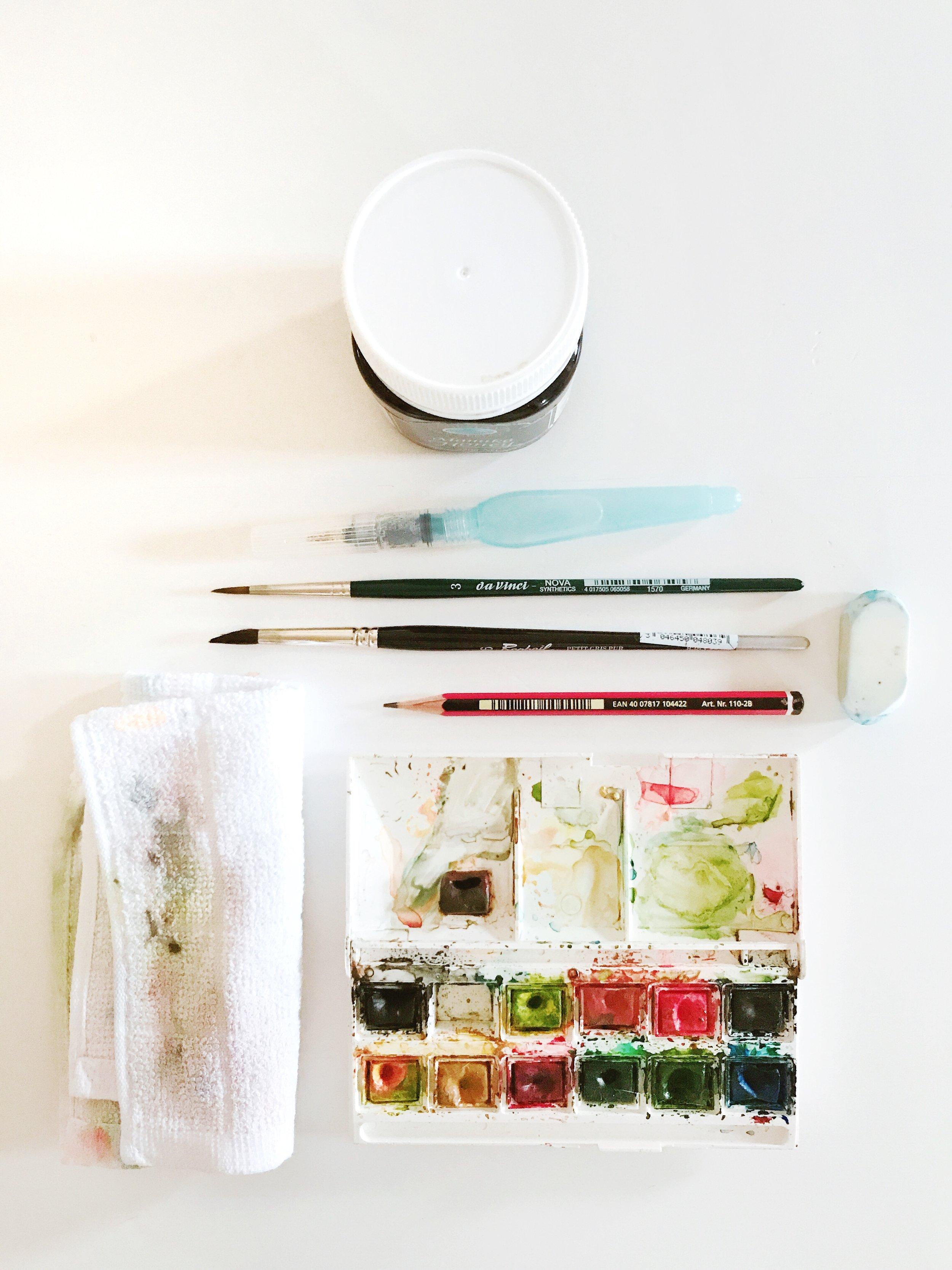 持ち物の参考写真 (Tools to bring)
