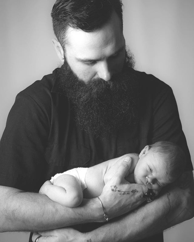 Congrats to my brother @7monsters and his wife for making this beautiful human being. This little 2 week old has already stolen my heart and so many others around her. Welcome to the world little Juniper.