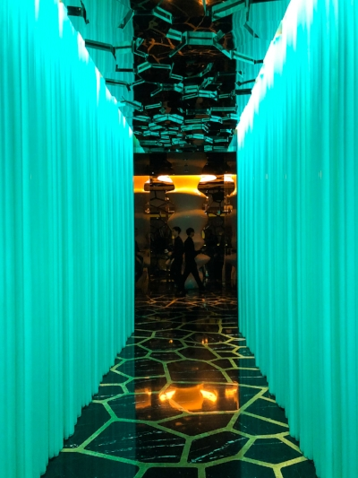 The entrance at Ozone.