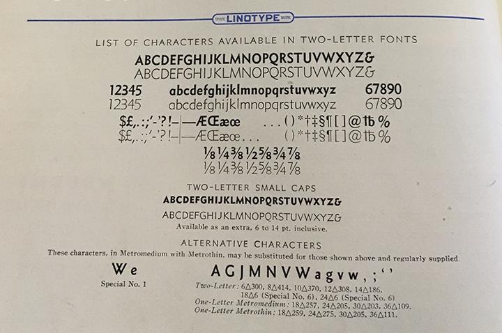 "Note 2 alternative cap ""W"" characters"