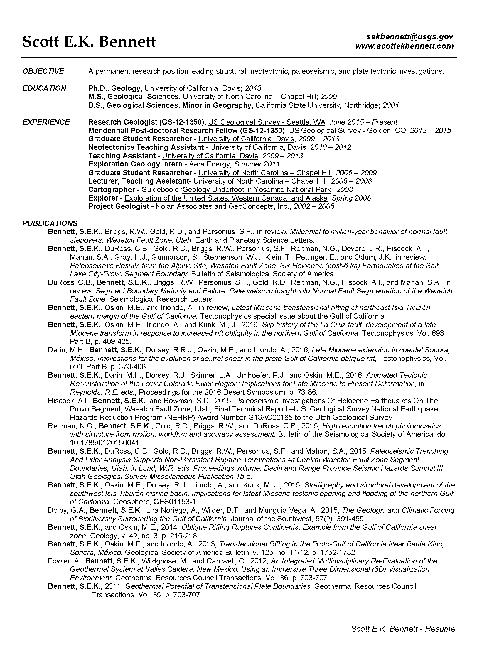 Click to download Scott's Resume (2 pages)