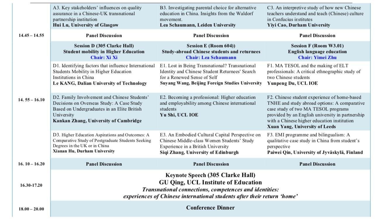 CERA 2019 Conference Programme — CERA