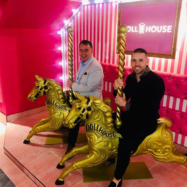 I wish the best of luck to my friends Kane and Tom with there new bar in Leeds. @dollhousevip the place is an Instagramers playground