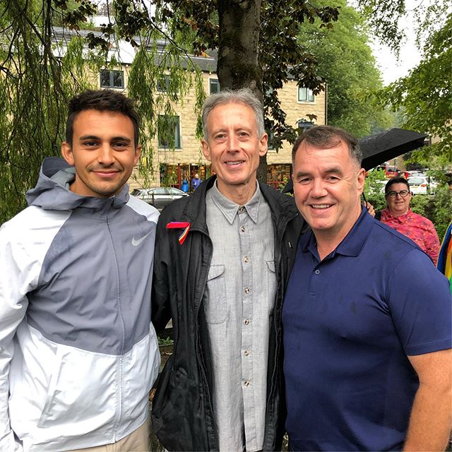 I have so much admiration and respect for this guy. The things he's done for human rights and LGBTQ rights globally. He is a living legend. 🙌 Peter Tatchell 😘