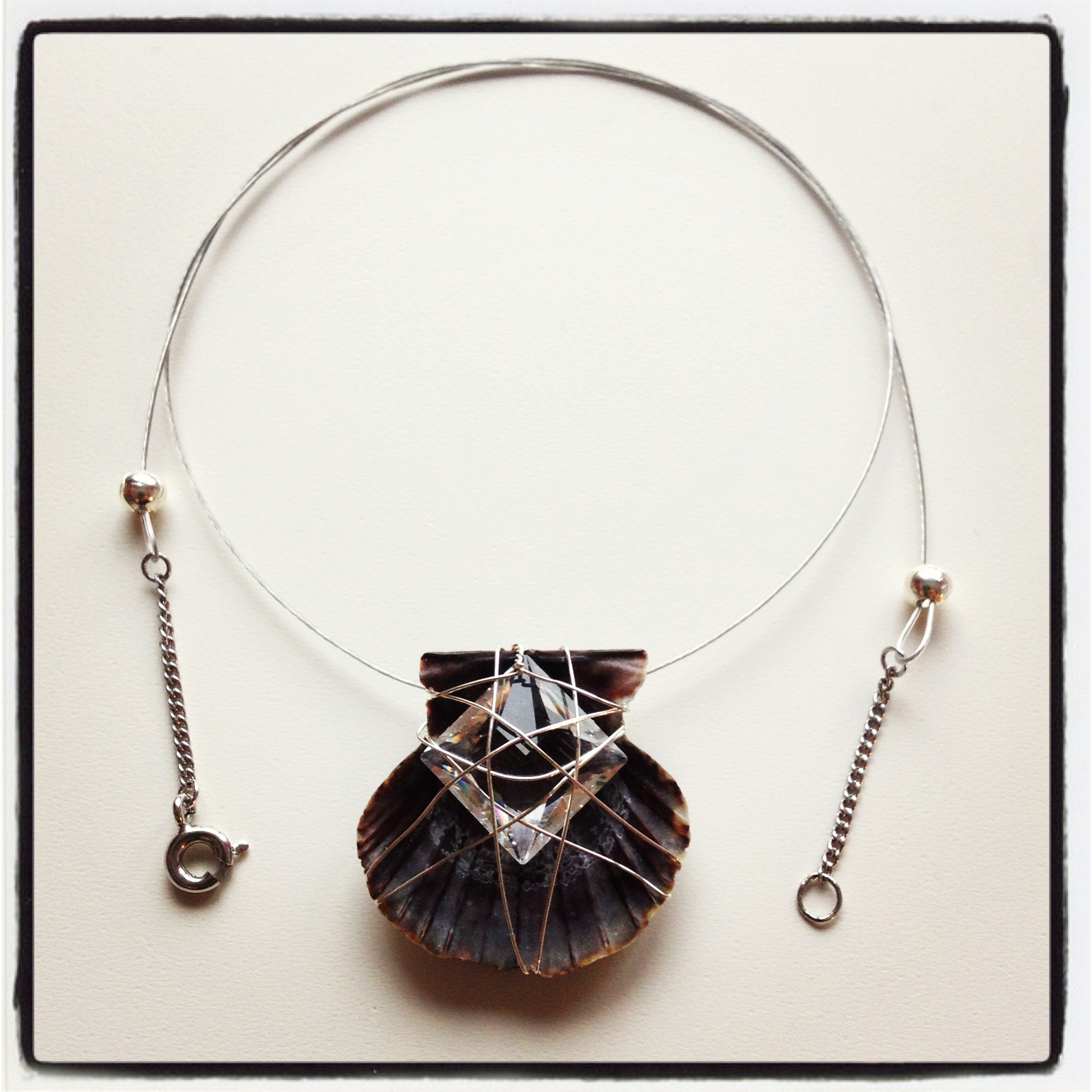 "Necklace ""Shell""_Portugal Collection"