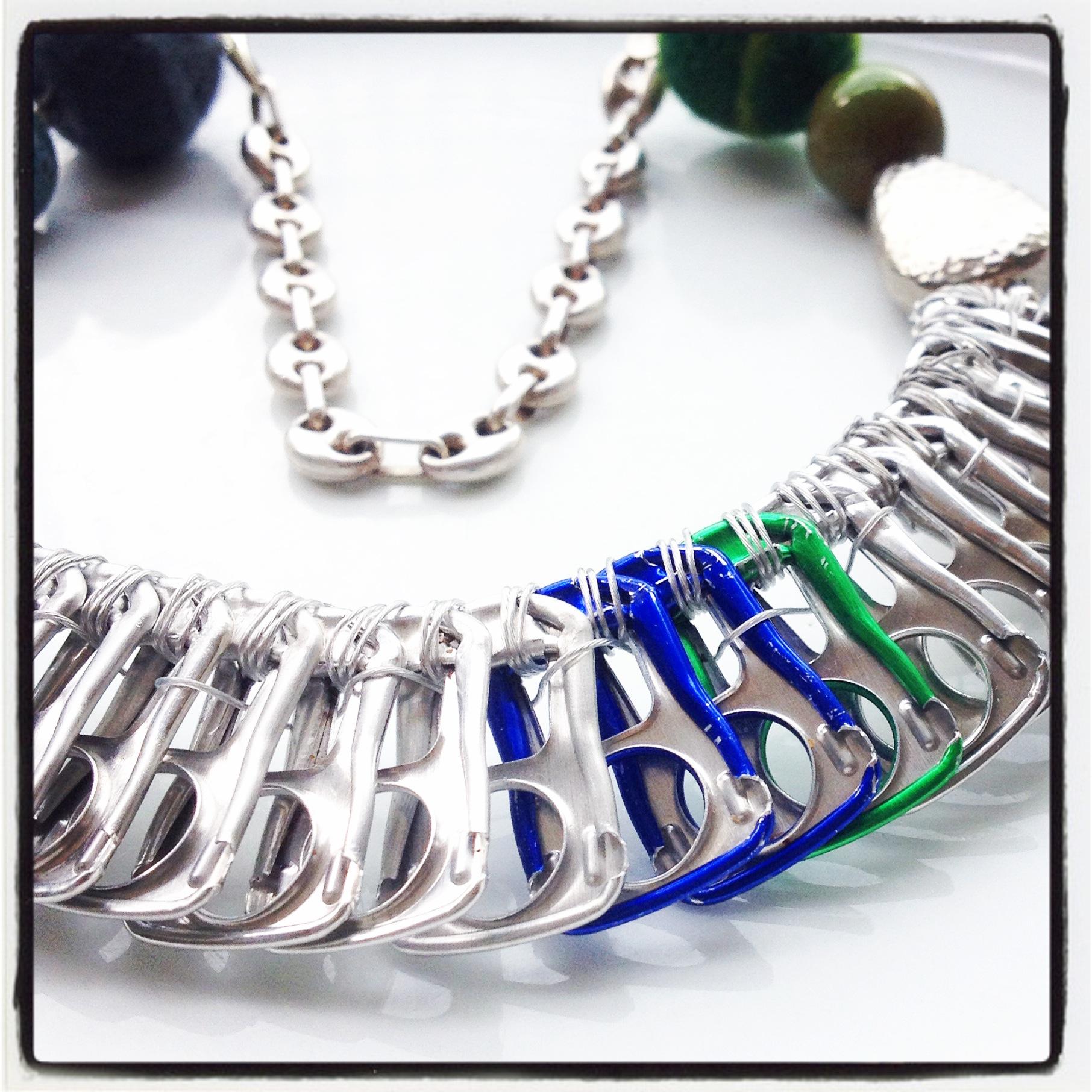 "Necklace ""Pulltabs"""