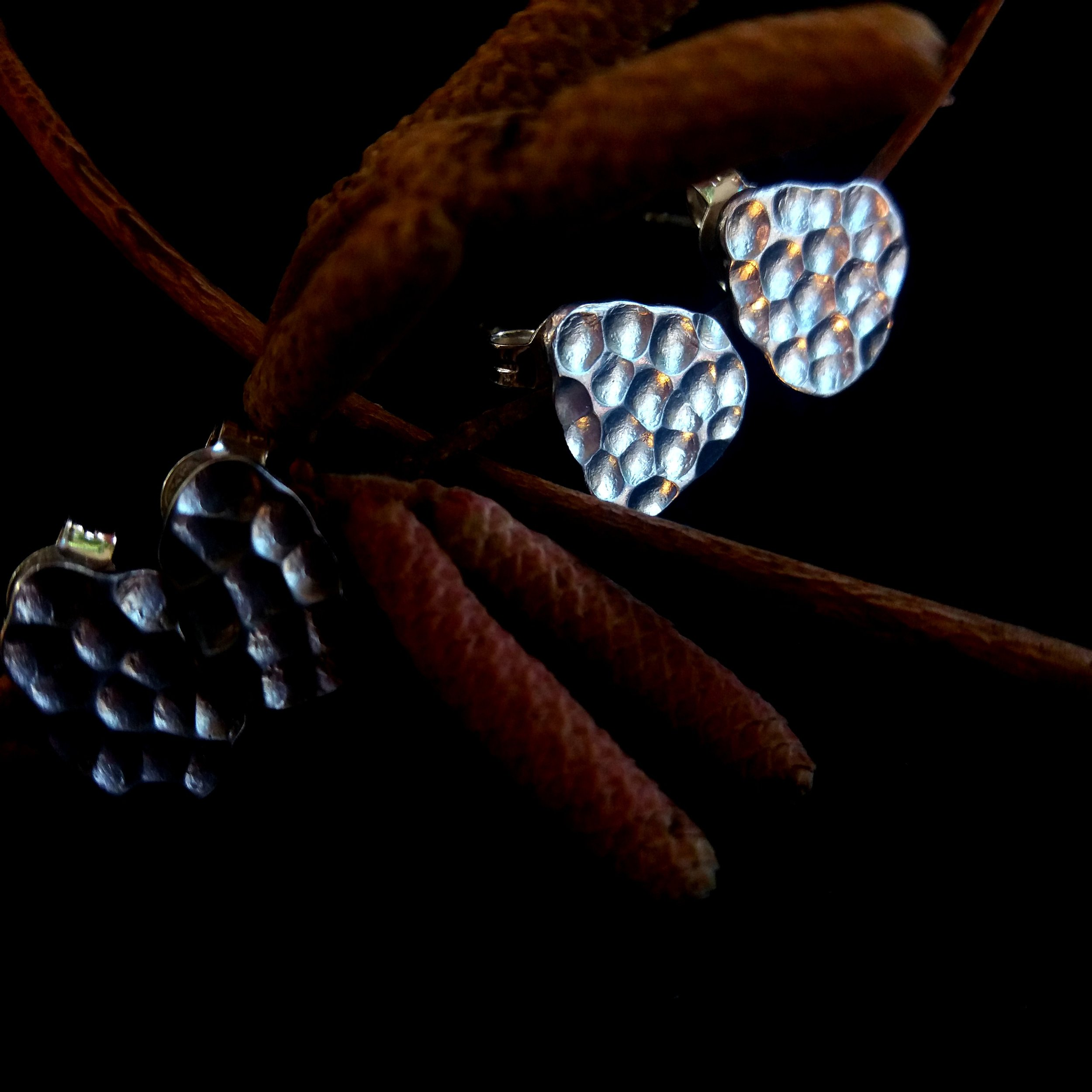 """Earrings """"Autumn Birch"""""""