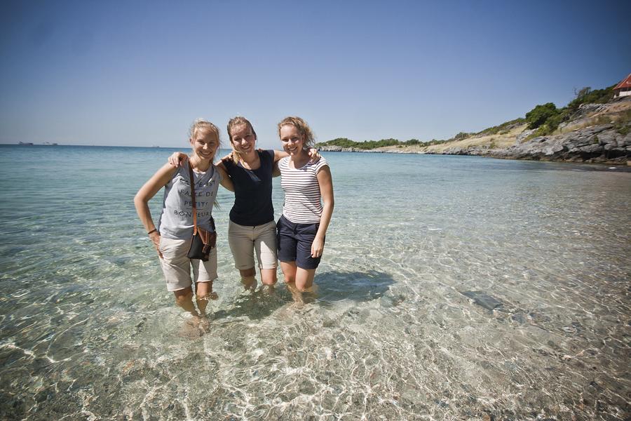 Tytöt saarella