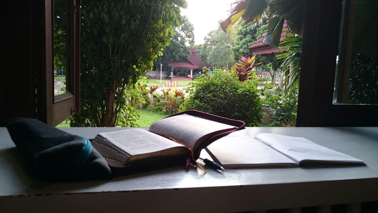 Raamatunlukuohjelman kanssakin edettiin hitaasti mutta varmasti..