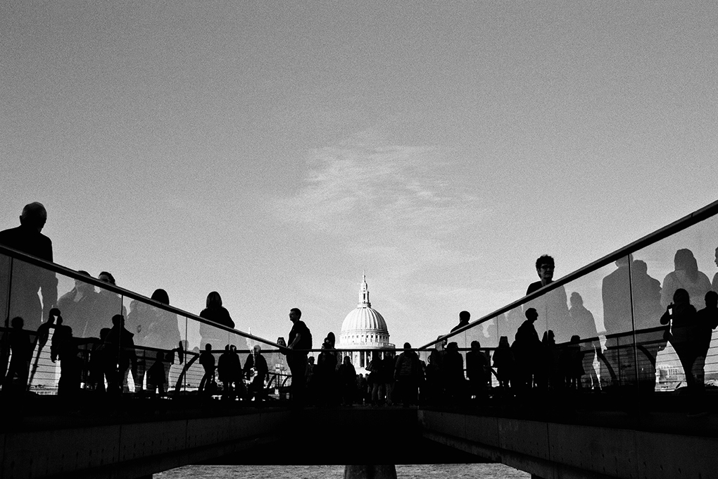 Millennium Bridge & St Paul's