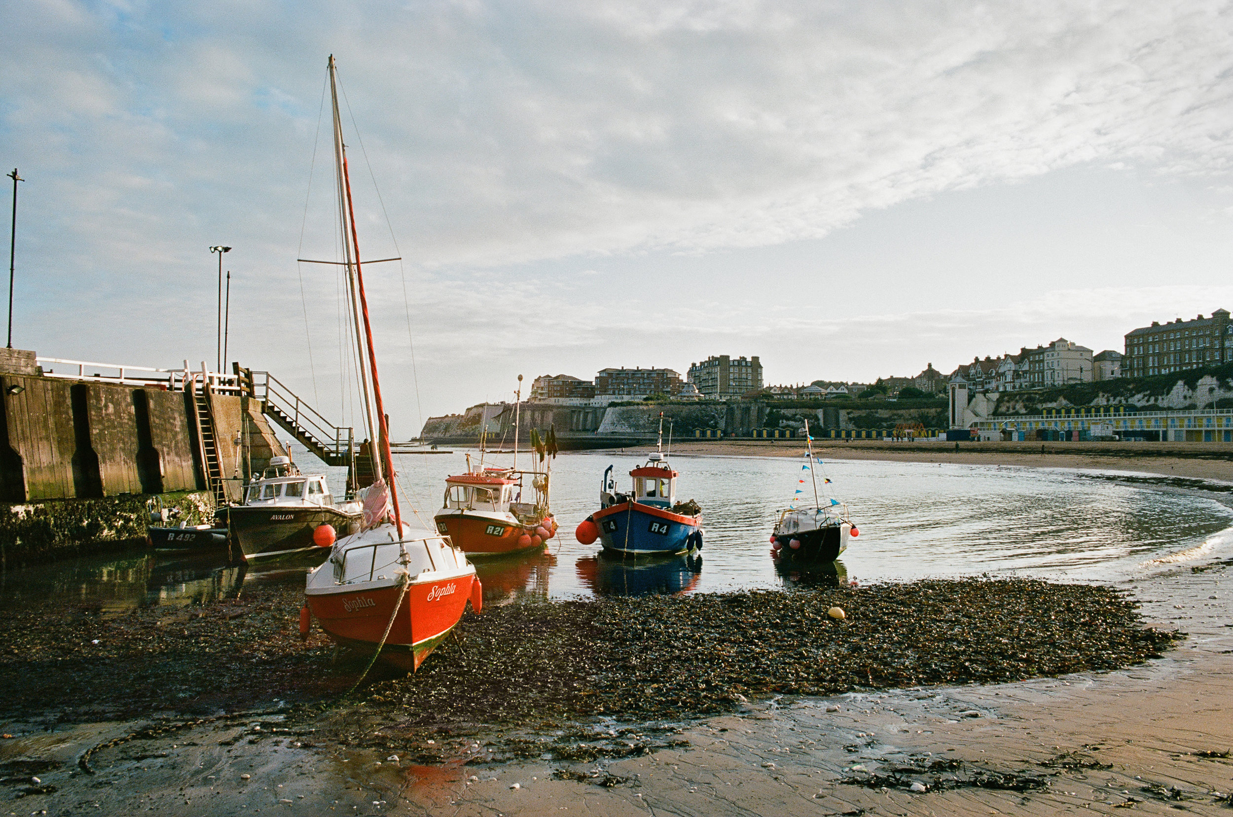 Broadstairs Harbour in the evening.jpg